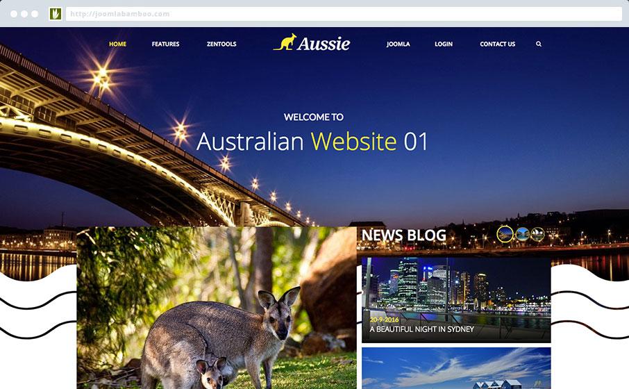 JB Aussie Template